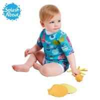 [스플래시어바웃] 해피내피웨트슈트 (투티후루티). 수영기저귀 일체형 아기수영복
