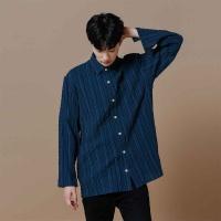 [오알오알] 스트라이프 셔츠 블루 R2-004