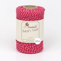 트와인 Baker's Twine 20m Red and Pink