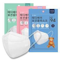 테디베어 KF94 황사 초미세먼지 마스크 30매