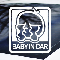 BABY IN CAR - 초보운전스티커(NEW070)