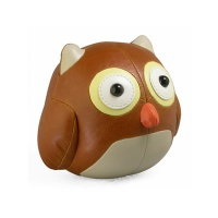 ZUNY-PAPERWEIGHT OWL/BROWN-문진