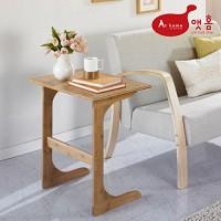 앳홈 대나무 원목 이즈 대형 사이드 테이블