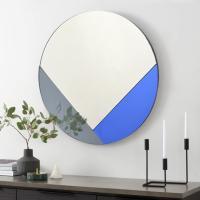 클로이 아트 미러 원형 화장대 인테리어 거울 60CM