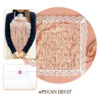 피칸데코 에티켓손수건 핑크플라워 선물박스포함