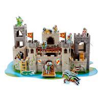 중세 성 3D 퍼즐