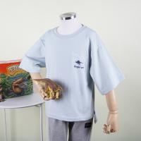 [다이노솔즈] 공룡 핑거아트 창의력 자극 어린이 순면 5부티 SB