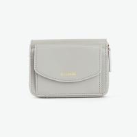 REIMS W016 Zipper poket Wallet Light Grey