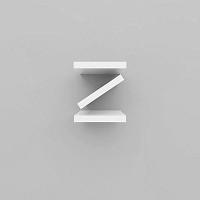 미니큐빅스 이니셜 벽선반-Z