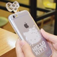 헬로키티 향수병 클리어케이스(아이폰6)