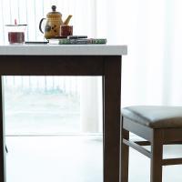 [리비니아]캘빈모카 대리석 2인식탁(단품)