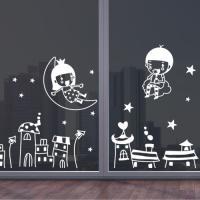 ij492-밤하늘여행(대형)_그래픽스티커
