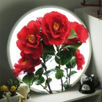 nb790-LED액자45R_아름다운동백꽃