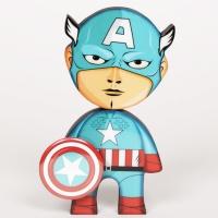 [4만마켓] 멕시코 아트토이 칼카스 캡틴아메리카(S)