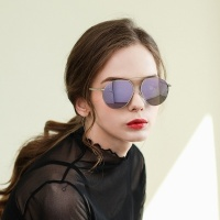 MAISON RT E6003 C4 퍼플 미러 패션선글라스 편광렌즈