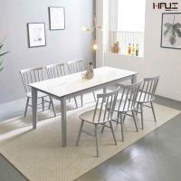 엘리브리오니세라믹6인용식탁(3인벤치+의자3)ha191