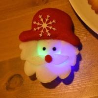 LED점등 펠트산타뱃지