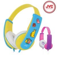 JVC 어린이 헤드폰 HA-KD5 라바 에디션 정품 (3.5mm 오디오 단자 / 높낮이 조절 / 아이 맞춤형 설계 / 라바스티커 4종)