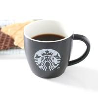 스타벅스 정품 머그컵 - 블랙