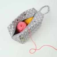 [패브릭 뜨개 보조가방] 뜨개프로젝트 파우치