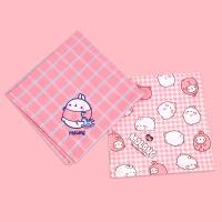 [몰랑이] 손수건 귀여운 심플한 도트 패턴
