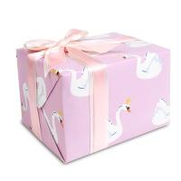 [인디고샵] 포장지 핑크 스완 (1개)