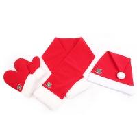 산타의상세트 아동용(모자+목도리+장갑)고급
