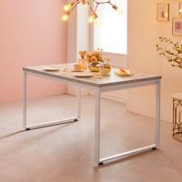 [e스마트] 스틸마블 4인용 식탁테이블 1200x600