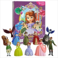 Disney Sofia The First : My Busy Books 소피아 피규어북