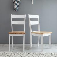 [리비니아]캔사스 원목 의자 1+1