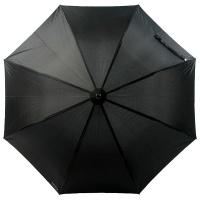 보그 일반형 자동 장우산 - 솔리드 블랙 옴므