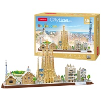 [3D퍼즐마을][MC256h] 시티라인-바르셀로나 (City Line Barcelona)