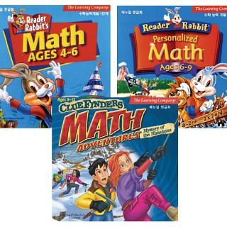 [CD-ROM] 리더래빗 수학종합학습 세트