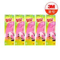 [3M]베이직 고무장갑(중) 5개세트