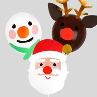 [인디고샵] 크리스마스 프렌즈 풍선 set