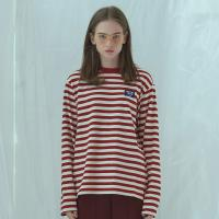 AF LABEL STRIPE T-SHIRT (RED/WHITE)