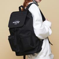 [어나더프레임] THREE STAR HOOD BACKPACK (BLACK) 백팩 후드백팩 포켓 가방
