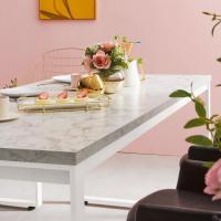 [e스마트] 스틸마블 6인용 식탁테이블 1600x600