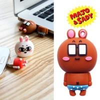 마조앤새디 실리콘 캐릭터 OTG USB 메모리 8GB