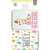 포켓 카드- HelloSunshine 3x4 PocketCrds