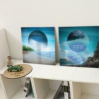 cp279-아크릴액자_해변의아름다운풍경