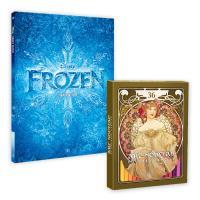 디즈니 겨울왕국 컬러링북 + 아르누보 36색 색연필