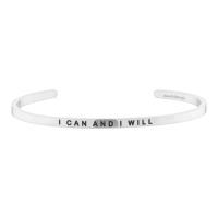 [만트라뱅글] I CAN AND I WILL - 실버