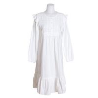[쿠비카]도비면 짜임 원피스 여성잠옷 W508