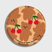 Dot cherry big bear-beige(거울)