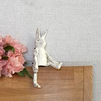 관절 목각 토끼(화이트 소)