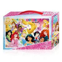 디즈니 프린세스 꿈의 나라 100피스 직소퍼즐