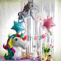 유니콘 생일 파티 세트 8종