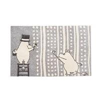 러그 moomin rug painting silver