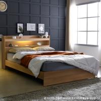 [보루네오 하우스] 아르메 엘피노 LED 일반형 침대 SS_컴포트 본넬매트